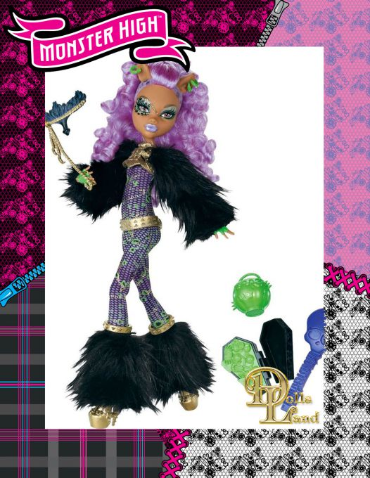ghouls rule clawdeen wolf monster high Ин�е�не�