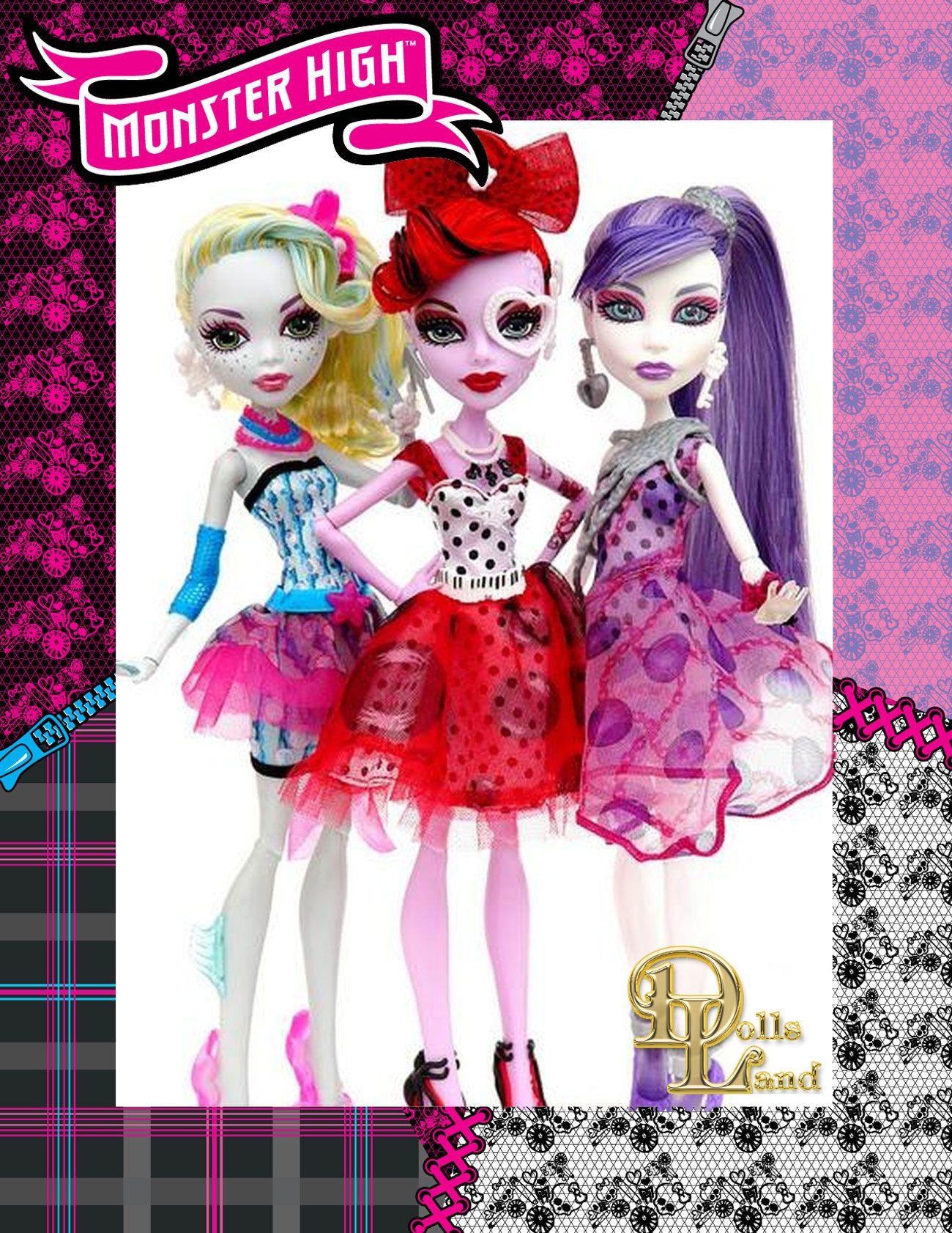 Серия кукол Monster High Dot Dead Gorgeous (Смертельный горошек)