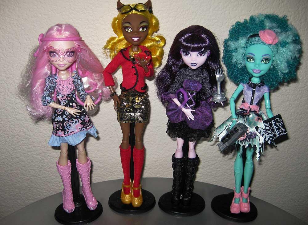 новые куклы Monster High из серии